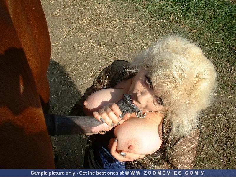 Сочная баба вывалила сиськи и принимает в ротик хуй коня зоо порно фото смотреть онлайн